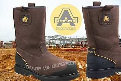 5a33fcd20e9 Amblers Safety Rigger Boots- New Advanced Build Year Round Rigger Boots  FS223 | eBay