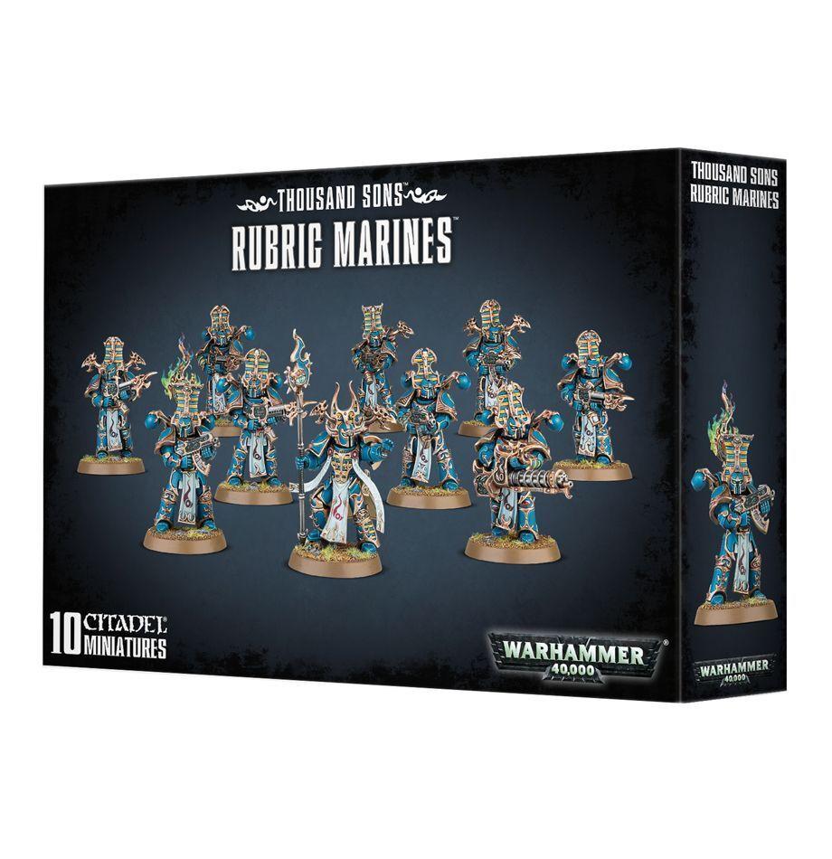 Warhamer 40k Thousand Sons Rubric Marines NIB