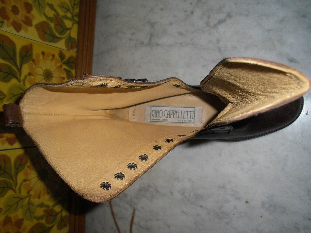 BRAND NEW NEW NEW DESIGNER Stiefel, EU 35 UK 2, GINO CAPPELLETTI, ITALIAN LEATHER e3dfe5