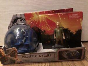 Jurassic World Fallen Kingdom Gyrosphere & Claire Figure Pack Park Mattel 2017