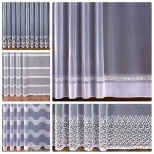 Charming Image Is Loading NEW Jacquard LIVING ROOM BEDROOM Net Curtains Price