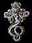 Greek Mythology Medusa Briar Jewellery Gorgon Pendant Necklace Gift Gothic