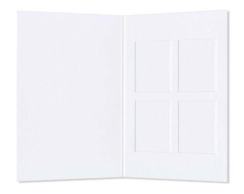 Passmappen//passbildmappen//passmäppchen//bildmappen 4er Schoeller /& stanzwerk 100