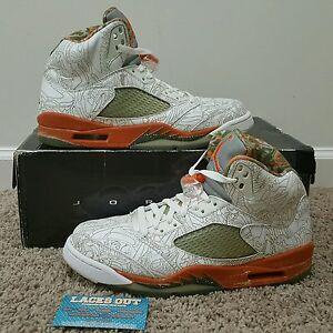 new styles 1f513 74d74 Image is loading Retro-Jordan-5-RA-Laser-V-2007-sz-