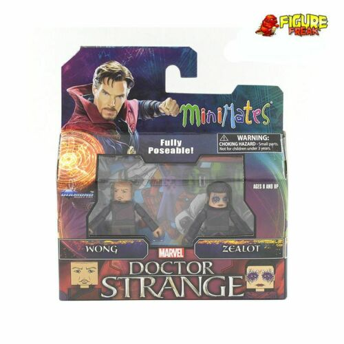 Marvel Minimates série 70 Doctor Strange film wong /& fanatique