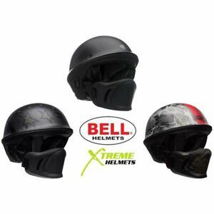 Bell-Rogue-Helmet-Muzzle-Open-Face-Speaker-Pockets-Motorcycle-DOT-2020-XS-2XL