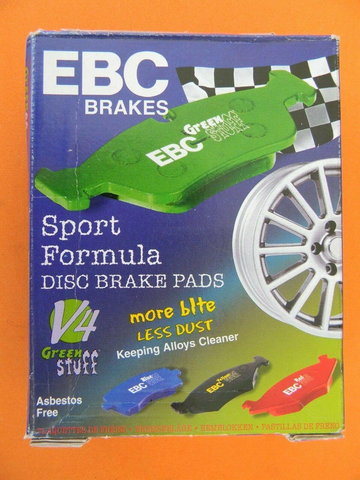 CERAMIC - SPORT EBC REDSTUFF BRAKE PADS REAR DP31430C
