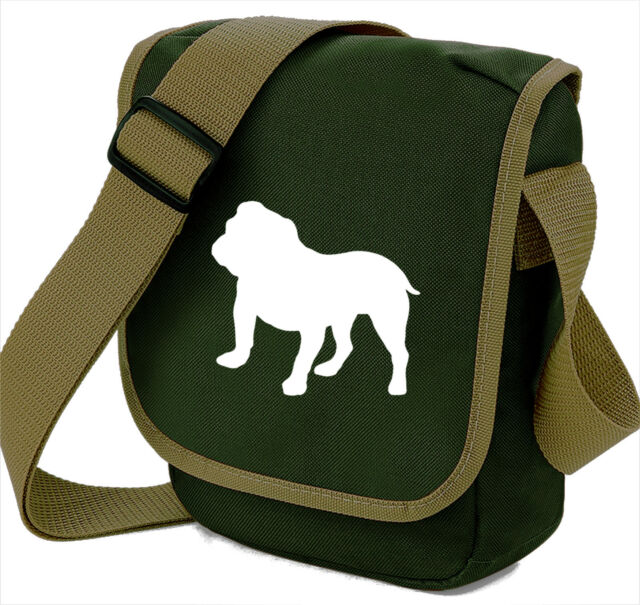 Bulldog Gift Pack Shoulder Bag & Wallet dog theme Birthday Gift Xmas Gift