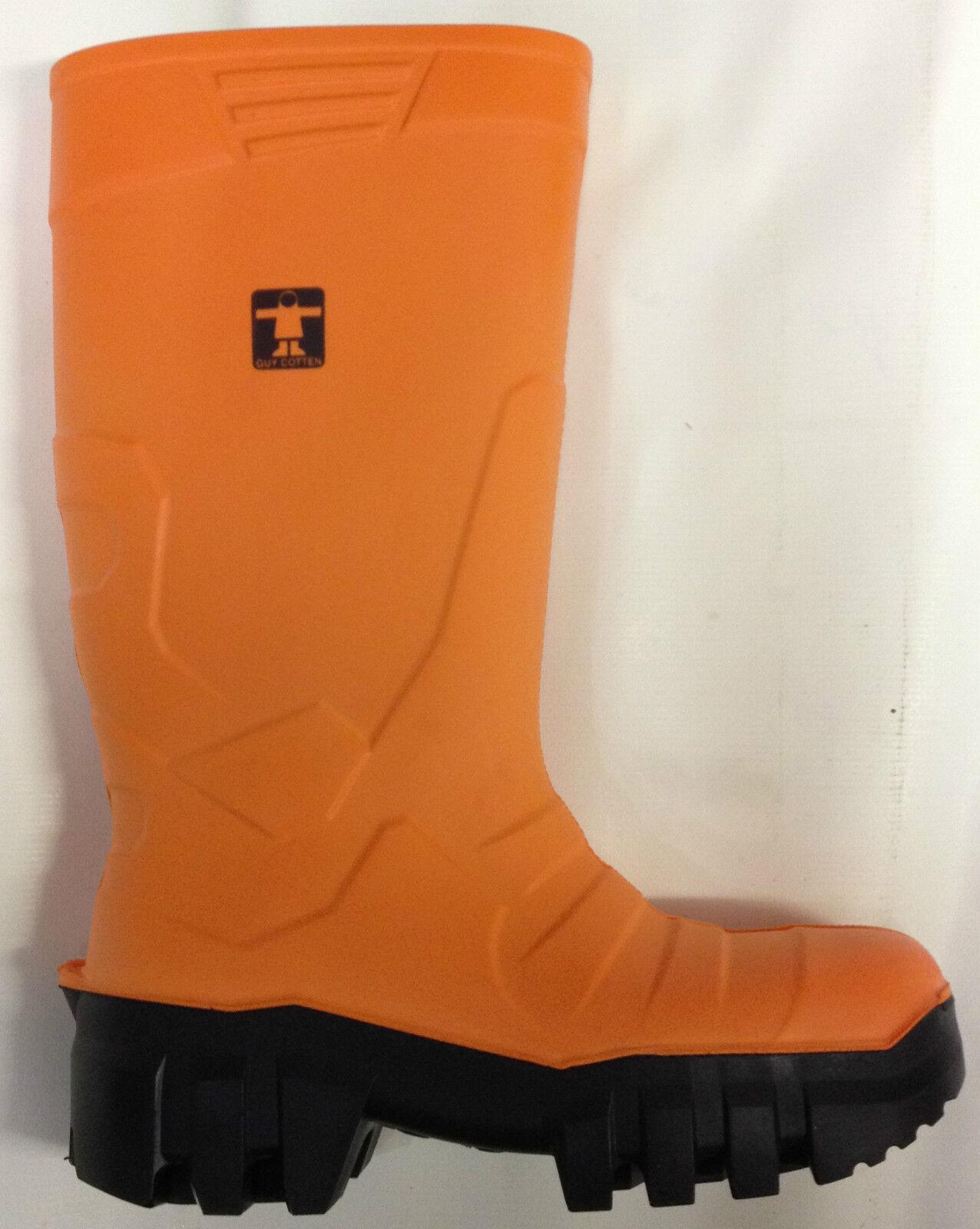 Guy Cotten Thermo botas De Seguridad Naranja Toe