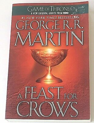 Song of Ice and Fire A Feast for Crows Book 4 George R R Martin Trade Paperback