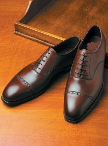 Handmade Men formal shoes Men brown Oxford shoes, Men dress shoes, Leather shoes