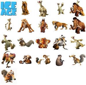 Pratique Ice Age Characters, Iron On T Shirt Transfert. Choose Image And Size-afficher Le Titre D'origine Forme éLéGante