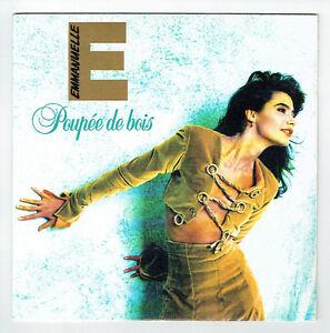 Emmanuelle-Vinyl-45-Tours-SP-7-034-Puppe-Holz-Tiger-Datensaetze-877394-7