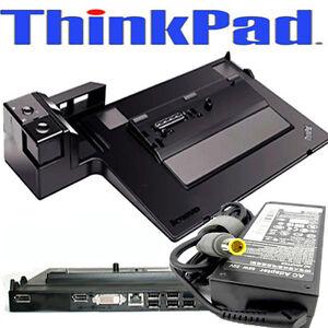 Lenovo-ThinkPad-Dockingstation-Series-3-Type-4337-T430-T420-T520-T530-90W-AC