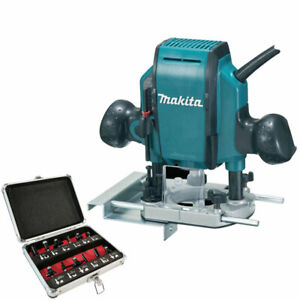 """Makita RP0900X 1//4/"""" ou 3//8/"""" Plunge Router 240 V"""
