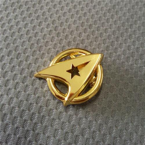 Cosplay Star Trek Badge The Original Series BadgeGolden Insignia Pin Brooch Prop
