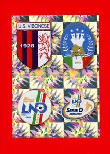 CALCIATORI-Panini-2009-2010-Figurina-Sticker-n-698-VIBONESE-SCUDETTO-New