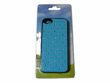 BLUE DIAMANTE FAKE DIAMOND IPHONE 5 MOBILE PHONE CASE IPHONE5  - NEW