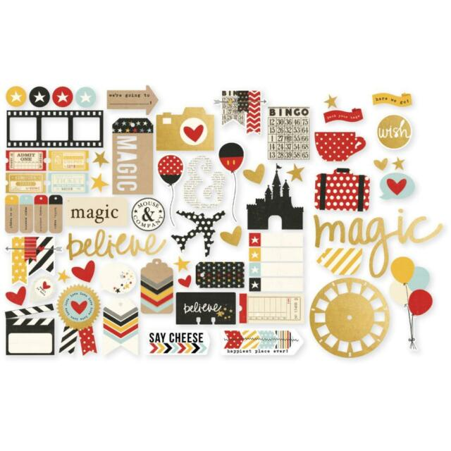 Simple Stories Say Cheese 2 - Die Cuts Bits & Pieces Disney Inspired