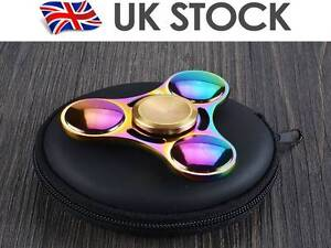 2-Fidget-Spinner-Colore-Metal-Main-Spinner-EDC-du-bout-des-doigts-Gyro-Stress-Jouets