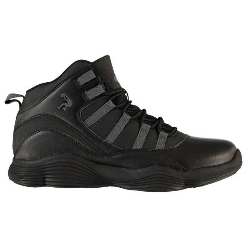 SHAQ Full Press Sneakers Mens Gents Basketball Laces Fastened Padded Ankle