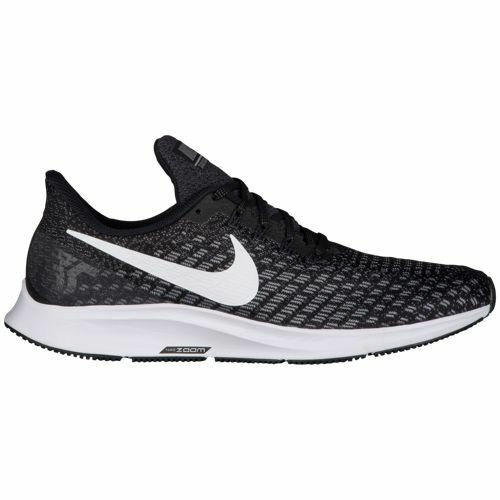 Nike Air Zoom Pegasus 35 Black/White/Oil Grey 2E Wide Mens Running 2018 All NEW