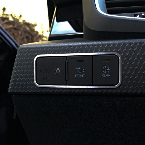 Audi A1 S1 Sportback GB RS MK2 Alu Zierblende S-Line Dekor Lichtschalter