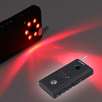 Anti Spy Wireless Camera Cell Phone GPS Bug RF Signal Detector Finder