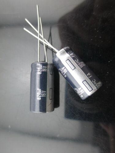 30pcs Panasonic FA 820mfd 16v 820uf 10x20mm audio electrolytic capacitor 105C
