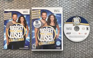 The Biggest Loser Challenge - Nintendo Wii Game - CIB - Authentic/Tested
