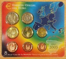 PORTAMONETE EUROSET FNMT EURO SPAGNA 2003 SPAIN,SPANIEN,SPAIN astuccio,blister