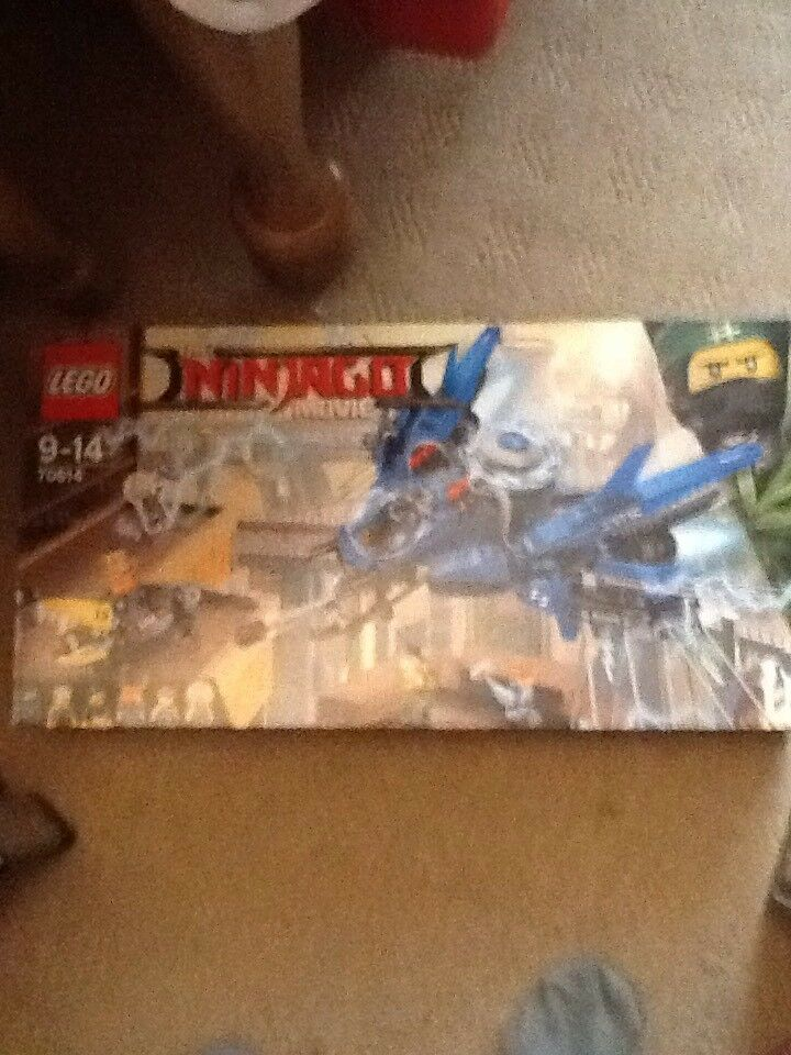 70614 LEGO Ninjago Movie Lightning Jet 876 Pieces Age 9-14 yrs New Release 2017