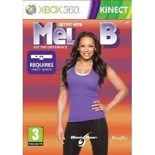 Microsoft Xbox 360 Spiel Get Fit with Mel B Kinect erforderlich Neu