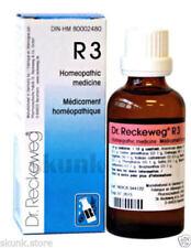 3 X Dr  Reckeweg-homeopathic Medicine-r3 Heart Drops-blockage
