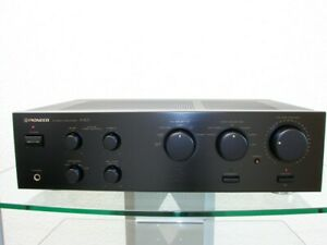 Pioneer-A-401-kraftvoller-Vollverstaerker-2-x-100-W-DIN-12-Monate-Garantie