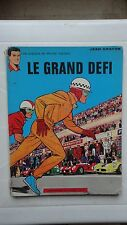 BD MICHEL VAILLANT LE GRAND DEFI N°1 JEAN GRATON HISTOIRE JOURNAL DE TINTIN 1966