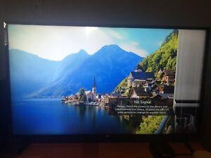 Cracked-LG-43-034-Class-LED-UK6090-Series-2160p-Smart-4K-UHD-TV-HDR