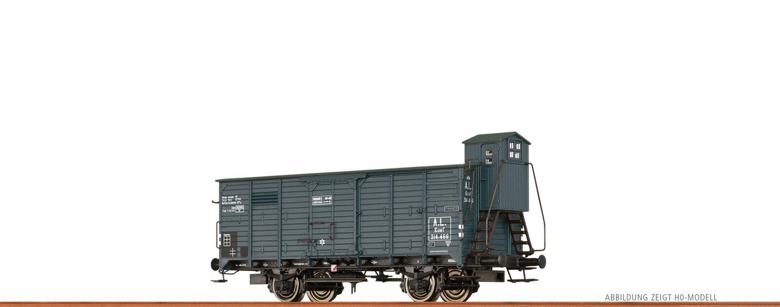 Brawa 67464 Escala N Vagón de Mercancía Kuwf Al con Hbr II