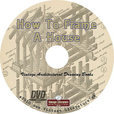 Architectural Drawing & Drafting Books { Art of Making Blueprints} on  DVD