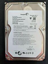 SEAGATE 7200.11 ST31500341AS 1500GB SATA HARD DRIVE P//N:9JU138-568 F//W:CC3H