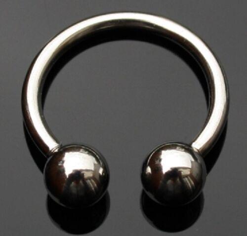 Labios piercing herraduras 1,6 x 12,7 x 5mm hhs-14125