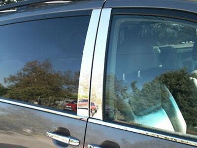 Stainless Chrome Pillar Posts 4PCS QAA Door Trim FOR Toyota Tundra Crew 07-20