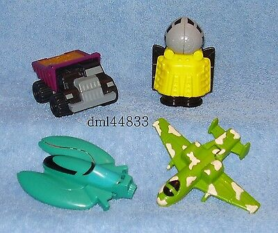 1995 McDonalds Attack Pack Complete Set - Lot of 4, Boys, 3+