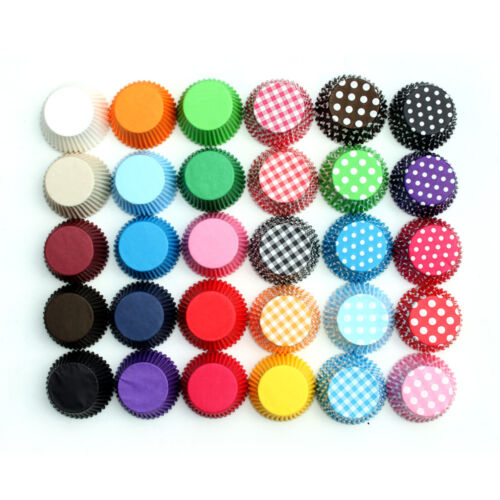 High Quality Cupcake Muffin Cases Multiple Colours Baking Cases UK