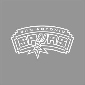 San Antonio Spurs Nba Team Logo 1color Vinyl Decal Sticker