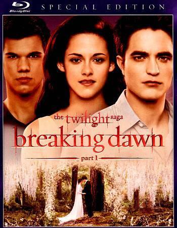 The Twilight Saga Breaking Dawn - Part 1 Blu-ray Disc, 2012  - $2.00