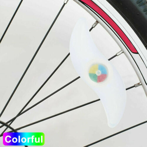 Bike Bicycle Cycling Wheel Spoke Wire Tyre Bright LED Flash Light Lam C PS
