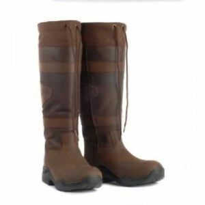 Toggi Canyon Waterproof Long Country Boots Leather Riding