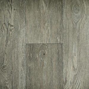 warm grey aged oak wood style vinyl flooring bathroom 2
