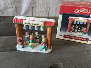 Lemax bell ringers village Xmas dickensville people accessories
